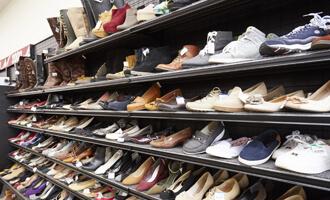 靴コーナー