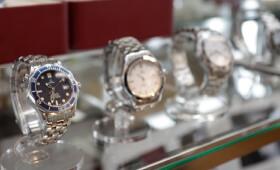 腕時計コーナー