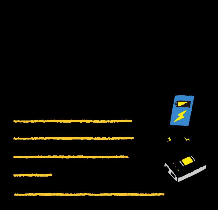 モバイルバッテリーを備蓄しよう!災害用伝言板の確認やラインやTwitter、テレビやラジオなど外部との連絡や情報収集ができる便利なスマートフォン。しかし、電池切れをしては何の役にも立ちません。情報難民にならないように、水、汚れ、衝撃に強い頑丈な大容量のモバイルバッテリーも備蓄しよう!